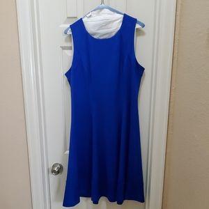 Ocean Blue Sleeveless dress White House Black Mark
